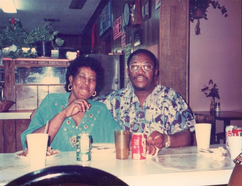 Errol and Loletta Jackson at The Reef