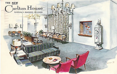 A post card from the Carlton House