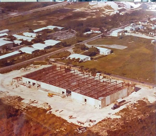 Asa H. Pritchard, Ltd. warehouse under construction