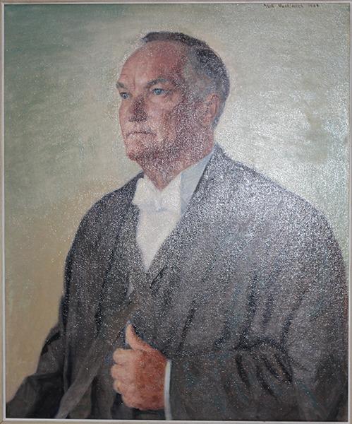 Portrait of Sir Asa H. Pritchard