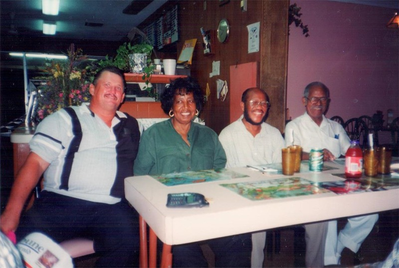 Loletta Jackson and friends at The Reef