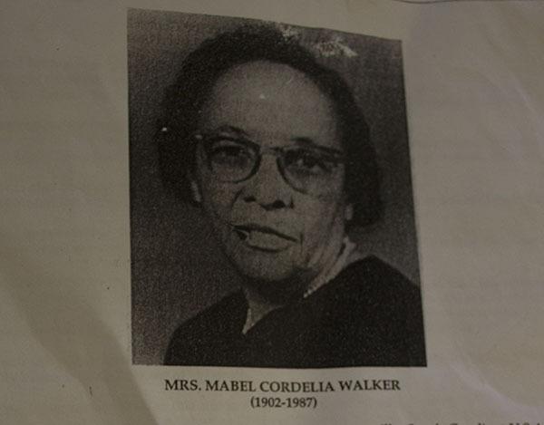 Photo of Mrs. Mabel Cordelia Walker