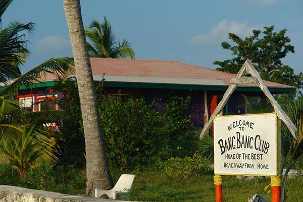 Captain Charlie Smith's Bang Bang Club, Andros Island